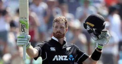 Martin Guptill century against Sri Lanka in 2019