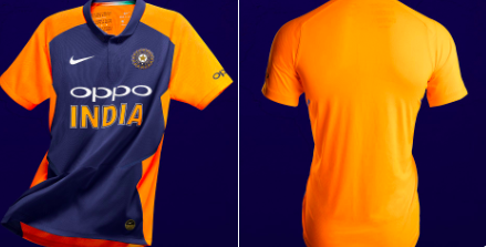 World Cup 2019: Official Away Jersey for Team India