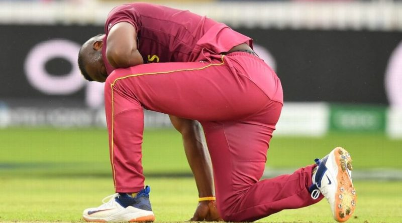 The hard-hitting Andre Russell has been ruled out of World Cup 2019