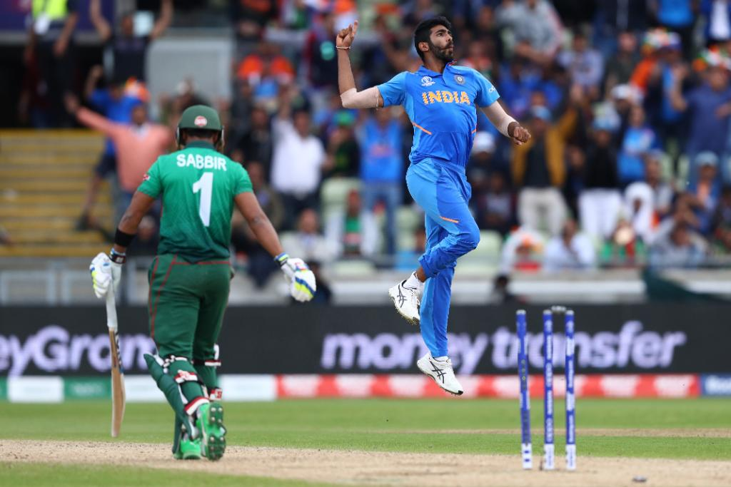 Jasprit Bumrah has been the best bowler of the tournament | Image Source: ICC