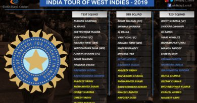 India squad for West Indies tour key takeaways