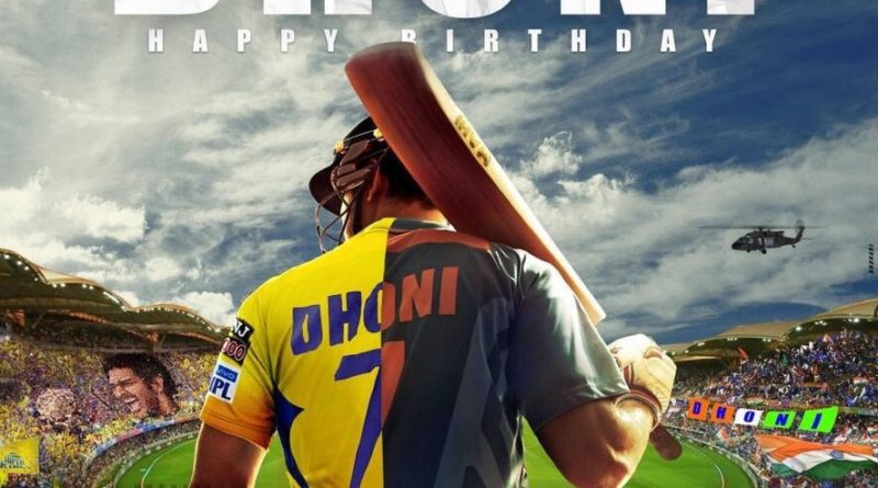 MS Dhoni birthday twitter