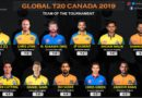 Global T20 Canada 2019 Team of the Tournament