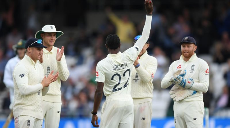 jofra archer twitter ashes 2019