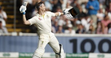 Steve Smith Ashes 2019 Day 3
