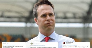 Michael Vaughan India vs SA Twitter