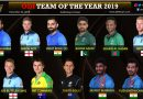 ODI Team of the year 2019