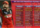 Royal Challengers Bangalore, RCB Predicted 11 for IPL 2020
