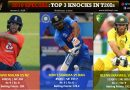 Top 3 knocks in T20Is in 2019