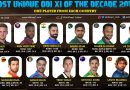 Exclusive: Most Unique ODI Team of the 2010 Decade