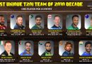 The Most Unique T20 International Team of the 2010 decade