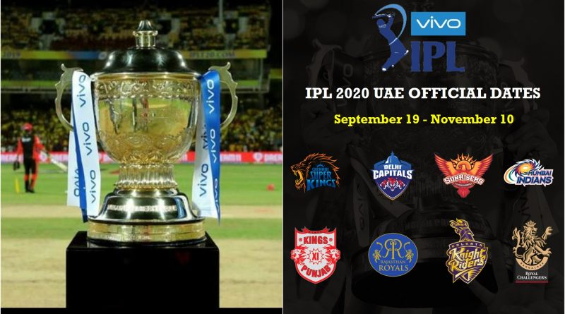 BCCI announces the official dates of IPL 2020 UAE- Key Pointers