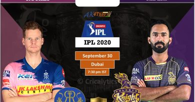 IPL 2020 Match 12 RR vs KKR predicted 11, preview, and top players