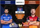 IPL 2020 Match 17 MI vs SRH predicted 11, preview, and top players