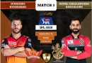 IPL 2020 UAE Match 3 SRH vs RCB predicted 11 and preview