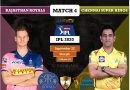 IPL 2020 UAE Match 4 RR vs CSK predicted 11 and preview