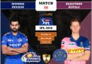 IPL 2020 UAE Match 20 MI vs RR predicted 11, preview, and key players