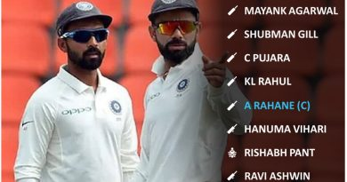 India vs Australia 2nd test match ideal playing 11