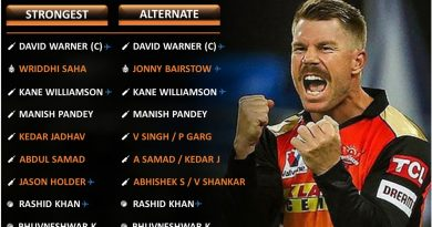 IPL 2021 strongest predicted playing 11 for Sunrisers Hyderabad, SRH