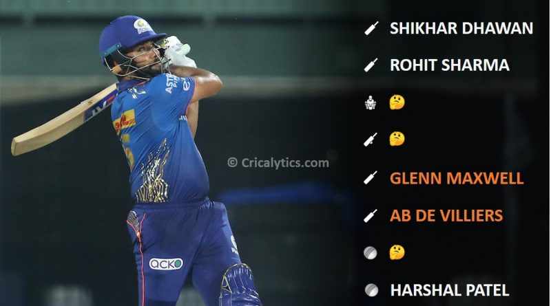 IPL 2021 Best performing playing 11 for the end of week 2