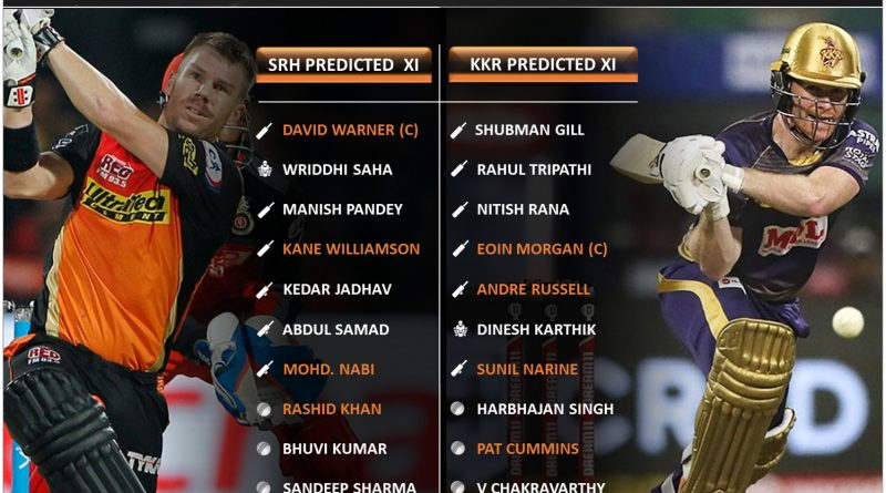 IPL 2021 SRH vs KKR match 3 predicted 11 and top fantasy picks